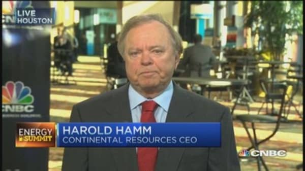 Harold Hamm: No tie to fracking and Oklahoma earthquakes