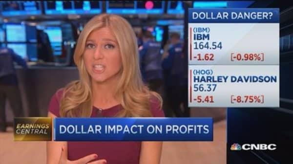 Is king dollar crushing profits?