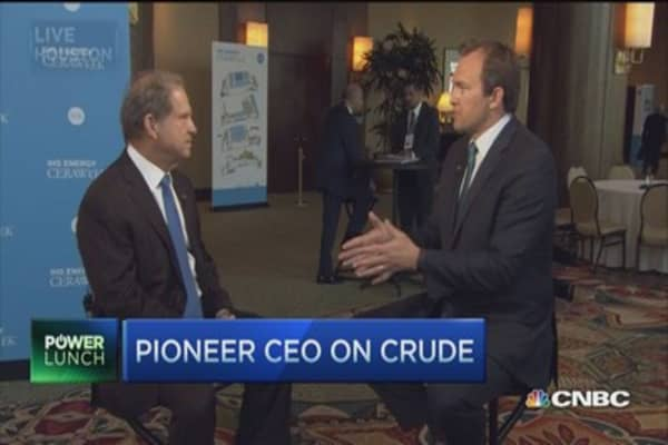 US oil production to decline: Pioneer CEO