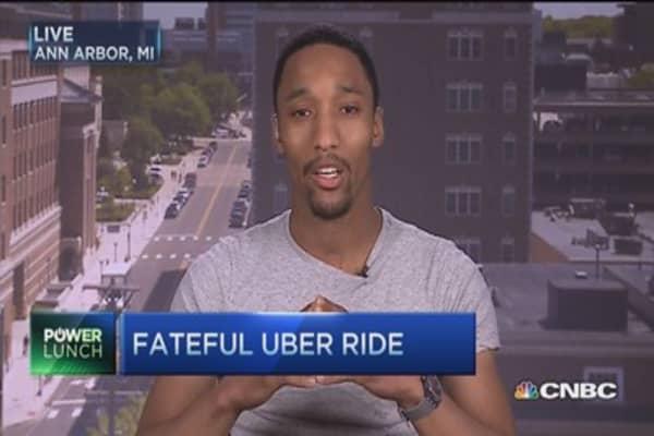 A fateful uber rider