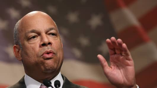 Homeland Security Secretary Jeh Johnson. The Department of Homeland Security plans to open a cybersecurity office in Silicon Valley.