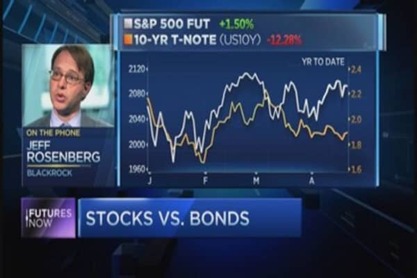 Here's why stocks are better than bonds: BlackRock