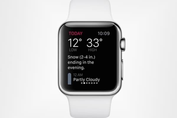 Dark Sky app for Apple Watch