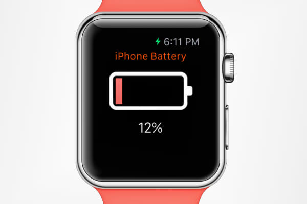 Remote Battery app for Apple Watch