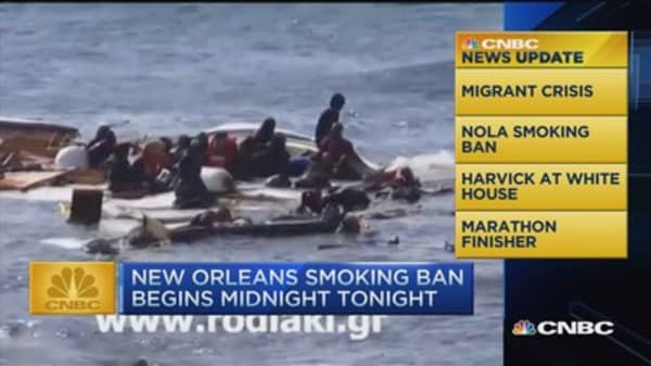 CNBC update: Video of migrant crisis