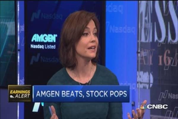 Amgen raises full-year guidance