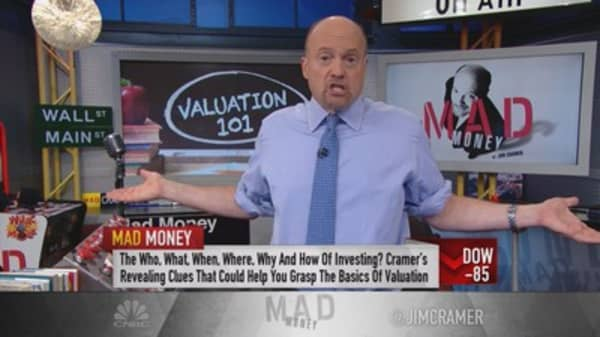 Cramer: Don't value stocks in a vacuum