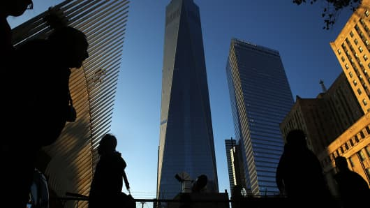 New York's One World Trade Center, the tallest building in the Western Hemisphere