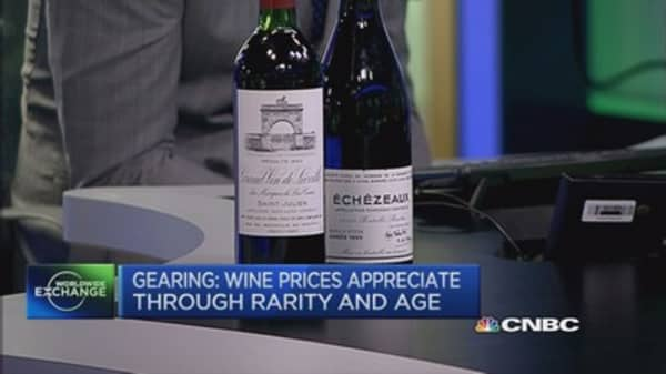 Good opportunities for wine investing