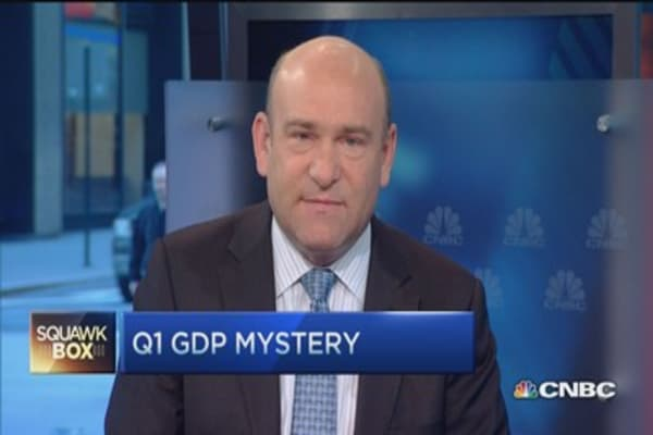 Is Q1 GDP data misleading?