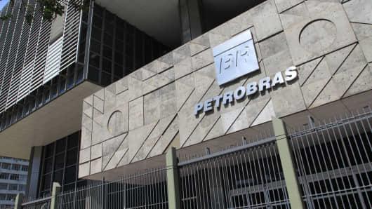Petrobras headquarters in Rio De Janeiro, Brazil.