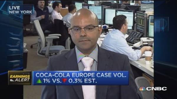Coca-Cola 'transition year': Pro