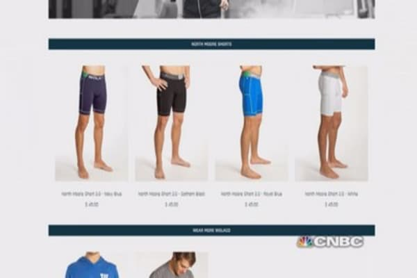 Harvard alum's start-up's shorts 'not dad's jock strap'