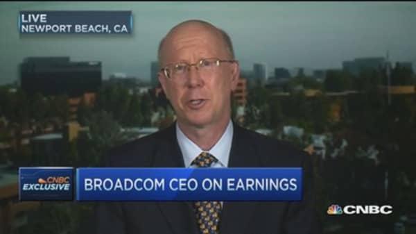 Broadcom CEO: We found our sweet spot