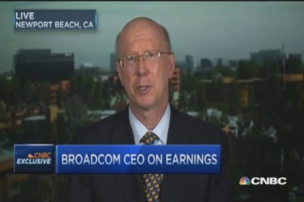 Broadcom CEO: We found our sweet spot