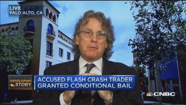 McNamee 'troubled' by 'Flash Crash' accusation