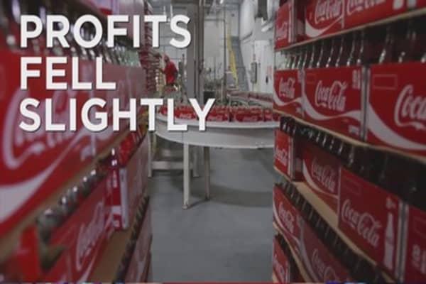 Soda sales still fizzing out