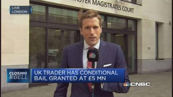 'Flash Crash' trader granted bail at £5m