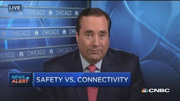 Safety vs. connectivity