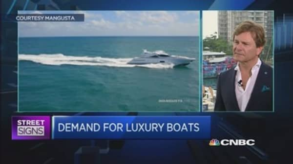 For luxury boats demand, Asia is where growth lies