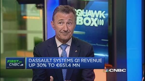 We're facing a new economy: Dassault Systemes CEO