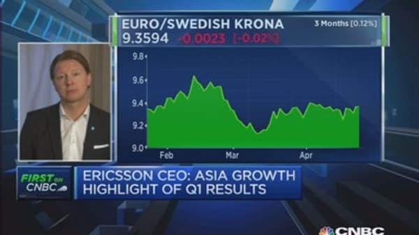 Weak Ericsson results weren't surprising: CEO