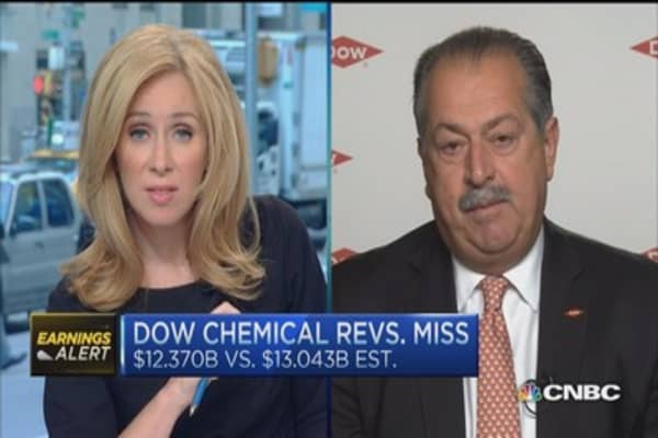 Dow Chemical CEO: Our portfolio suits 'new China'