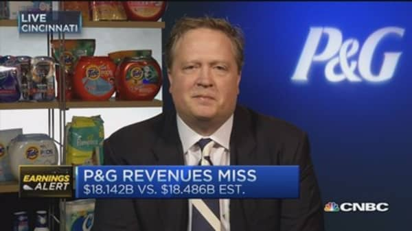 PG CFO: Strong bottom line growth despite currency headwinds