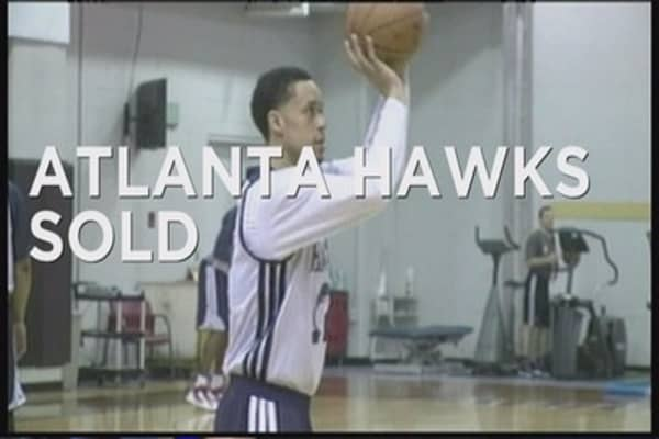 Atlanta Hawks sold to Tony Ressler
