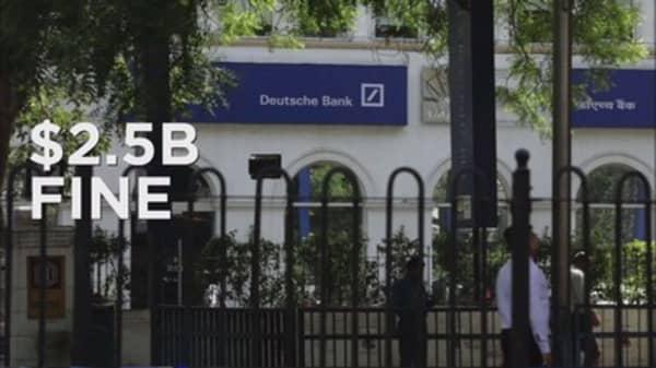 Deutsche Bank pleads guilty to rate-rigging