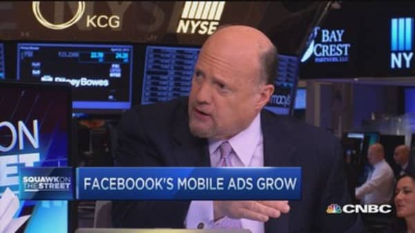 Cramer: Why you shouldn't sell Facebook