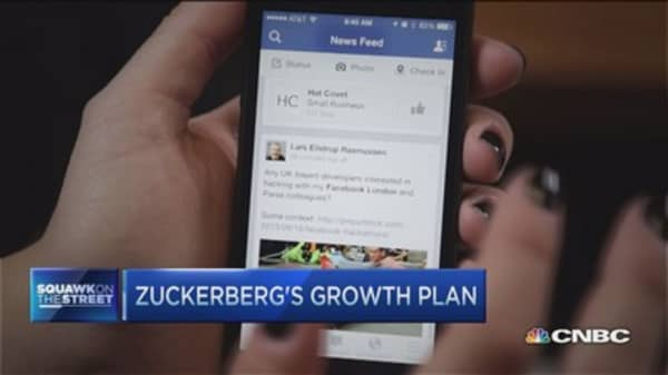 Facebook's growth plan