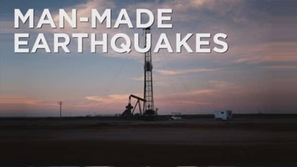 Man-made earthquakes continue to rise