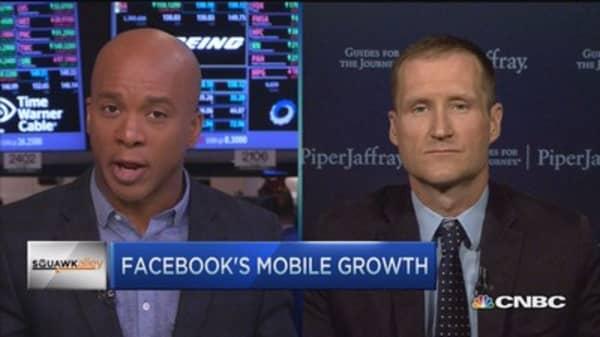 Facebook's mobile-mentum