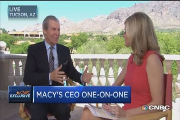 Macy's CEO: Consumers are in good shape