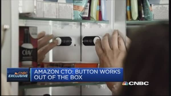 Customers 'love' the dash button idea: Amazon CTO