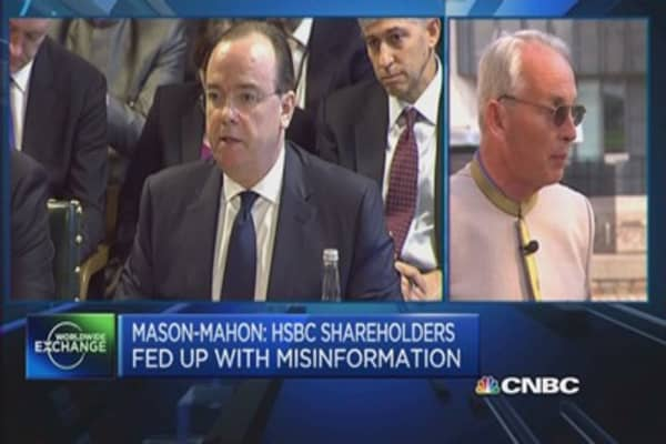 I want HSBC's chairman to resign: Shareholder