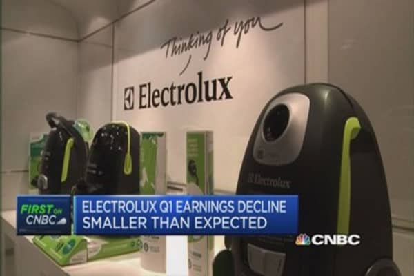 Electrolux Q1 was 'mild' for US demand: CEO