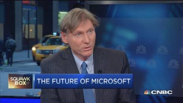 What's behind Microsoft's big beat?