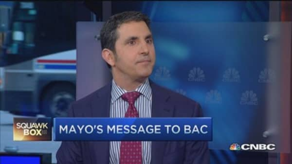 BofA: Miss you target, get promoted?