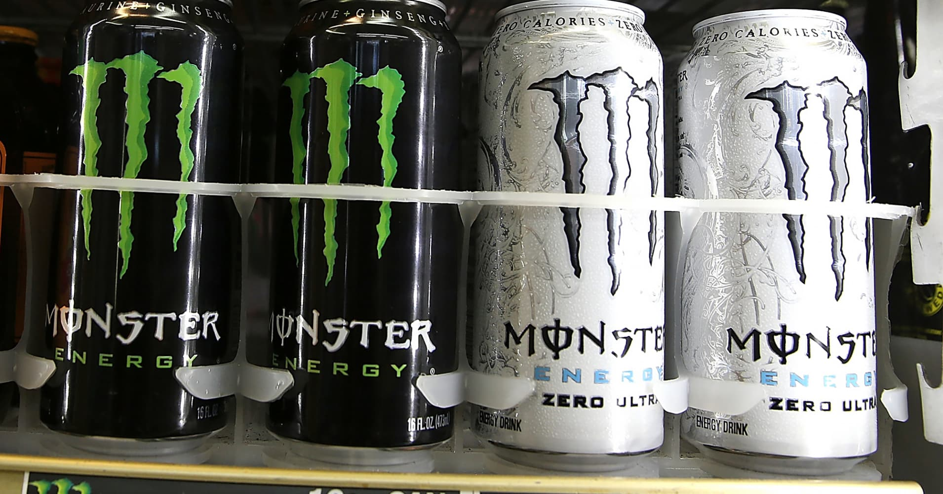 Monster Beverage is up nearly 70,000% in the last 20 years
