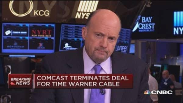 Cramer's stocks to watch: Comcast