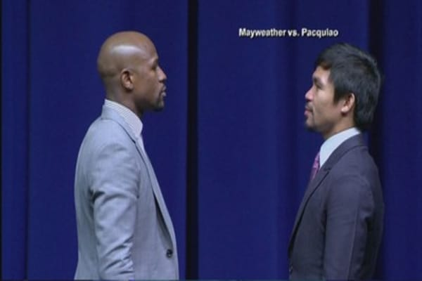 Mayweather vs Pacquiao knock out ticket prices