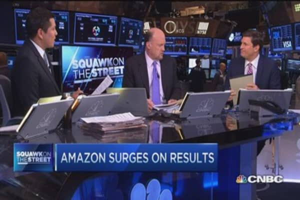 Cramer: Amazon's not done