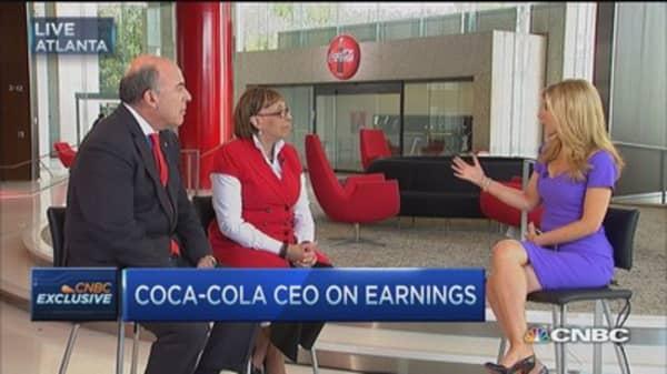 Coca-Cola: Strategy shift bearing fruit