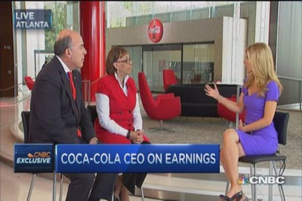 Coca-Cola: Strategy shift bearing fruit