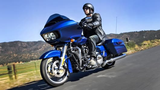 The 2015 Harley-Davidson Road Glide.