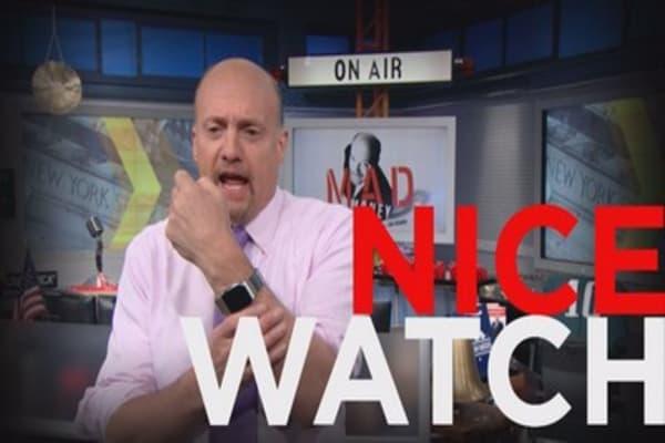Cramer's weird Apple Watch moment