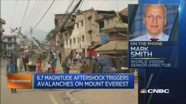 Monsoon looms for earthquake-stricken Nepal