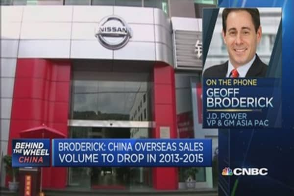 China automakers must improve brand: Pro